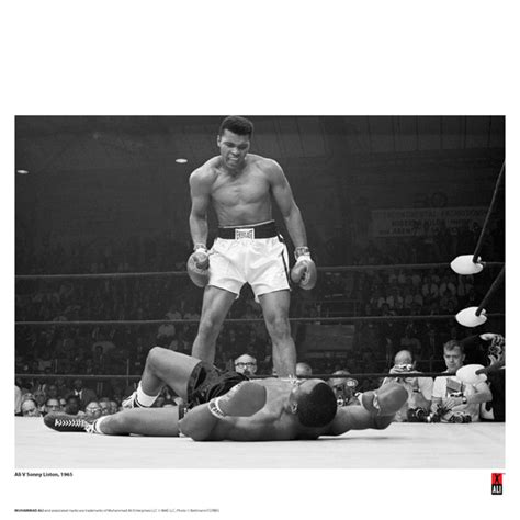 Muhammad Ali Back To His Roots by Muhammad Ali Minute Print 14 X 11