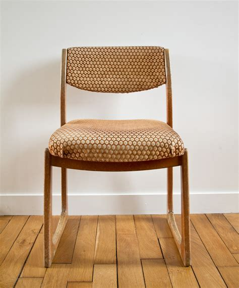 Chaise Type Scandinave by Chaise Fauteuil Scandinave De Type Traineau