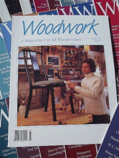 woodwork magazine back issues lot 100 woodwork magazines back issues woodworking