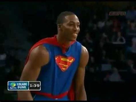 dwight howard superman dunk youtube