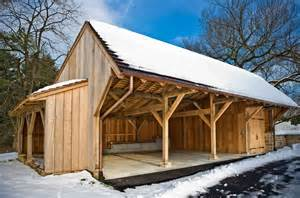 Timber Frame Shed Design by A Useful Shed And Shelter By Tfbc Member Hugh Lofting