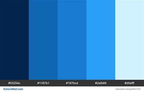 blue hex color abstract blue color palette hex colors 03254c 1167b1