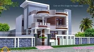 20 x 50 square home design 2875 square feet flat roof home keralahousedesigns