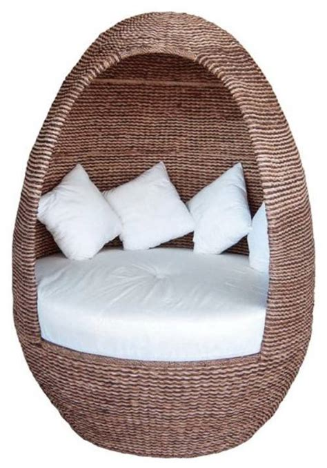 Patio Egg Chair Outdoor Wicker Egg Chair The Interior Design Inspiration Board