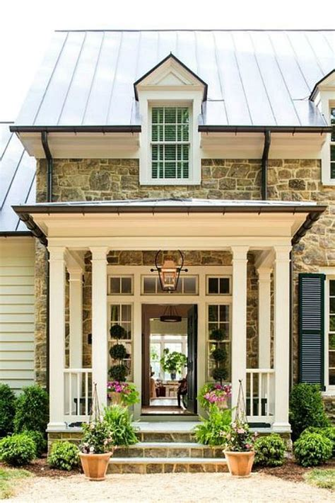 1000 Ideas About Porch Columns On Pinterest Front Porch House Plans With Large Columns