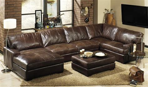 leather and cloth sectional sofas 17 best ideas about leather sectional sofas on