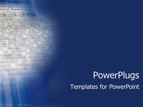 powerpoint template blue background with close up of