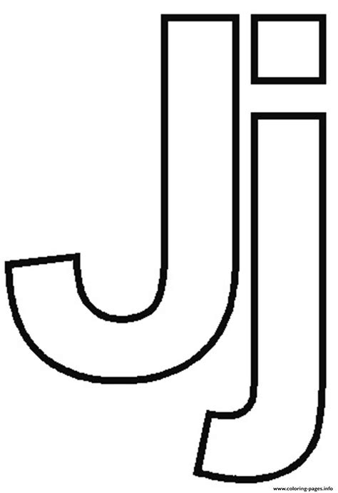 free j alphabet f610 coloring pages printable