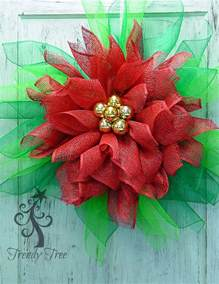poinsettia wreath tutorial trendy tree blog