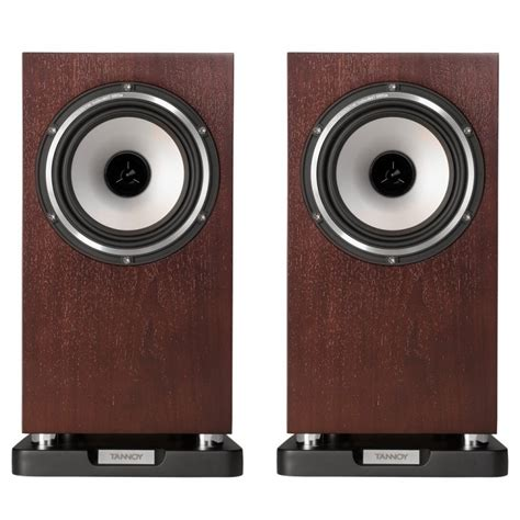 tannoy revolution xt 6 bookshelf speakers walnut