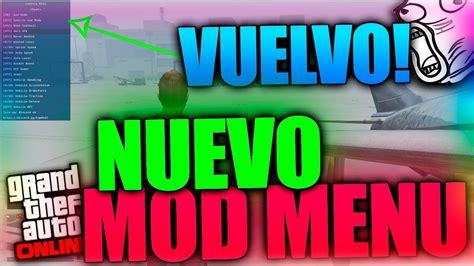 nuevo mod menu de gta v de pago youtube estoy de vuelta nuevo mod menu gratis para gta v online