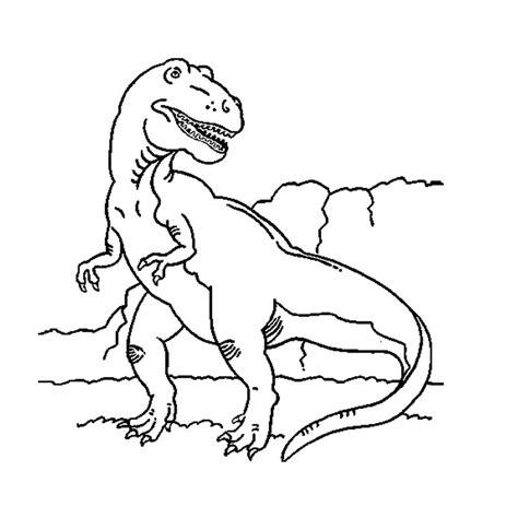 Dessin Tyrannosaure A Imprimer Coloriage A Imprimer