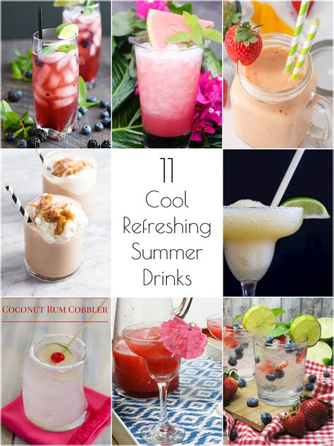 so creative 11 cool refreshing summer drink recipes