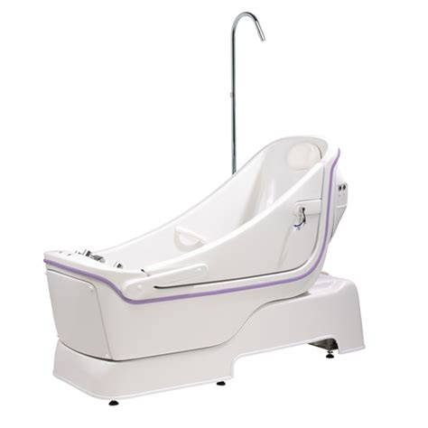 recline bath sentes reclining assisted bath advanced seating solutions