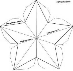 Tetrahedron Template by Best Photos Of Paper 3d Template 3d