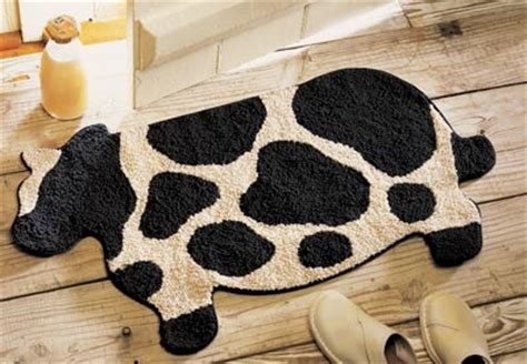 Cow Pattern Rug Collections Etc Find Unique Gifts At
