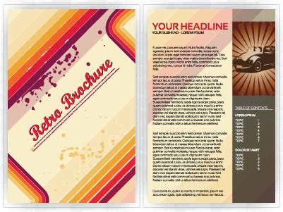 commonly business brochure cover design vector 01 free commonly business brochure cover design vector free vector
