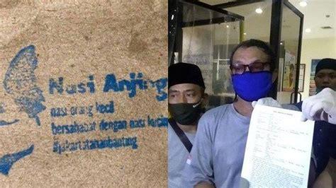 polisi stop kasus nasi anjing  dibagikan