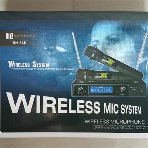 Microphone Werles Pewie Uhf 898 singapore hifi it store