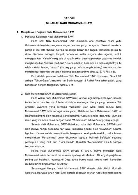 bab  sejarah nabi muhammad