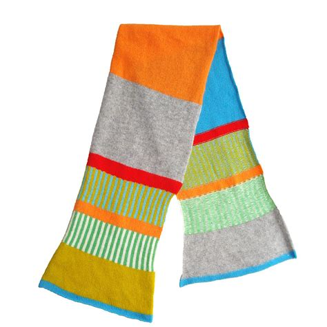knitted lambswool children s scarf by gabrielle vary