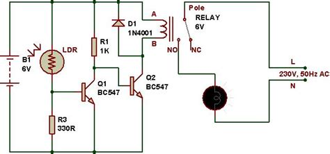 how to use a relay buildcircuit electronics