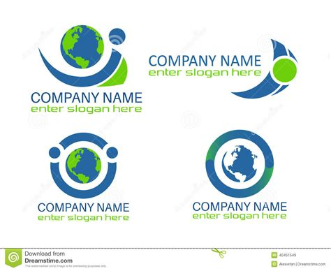 free logo design and save eco earth logo stock vector image of green mother