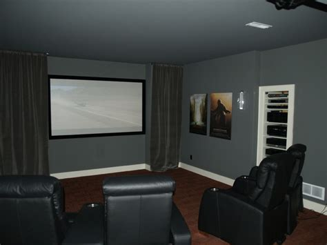 home theater projector open rack system traditional