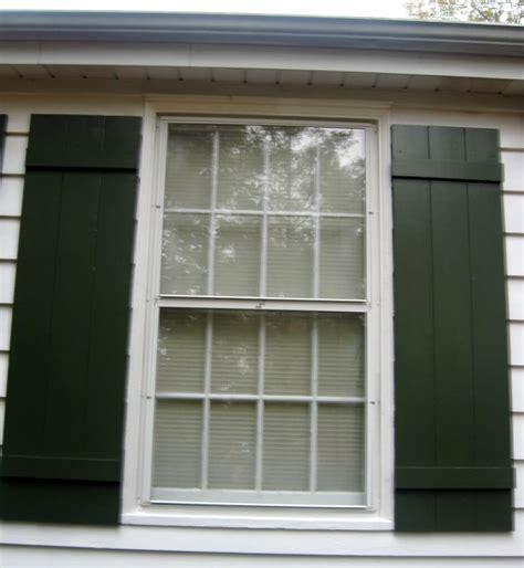 build batten board shutters