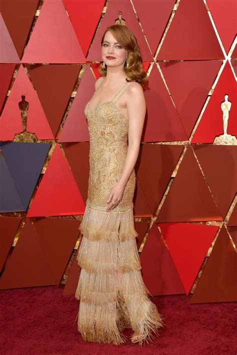 emma stone red carpet emma stone oscars 2017 red carpet in hollywood