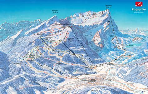urlaub auf skih tte garmisch classic skigebiet trail map onthesnow