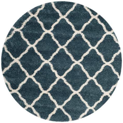 Slate Blue Area Rug Safavieh Hudson Shag Slate Blue Ivory 7 Ft X 7 Ft Area Rug Sgh283l 7r The Home Depot