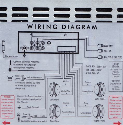 car radio wiring car stereo lifier wiring diagram get free image about