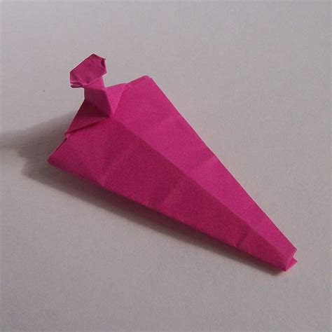 Origami Gauntlet - pin origami destroyer folding diagram