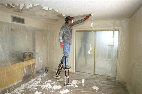 popcorn removal when you ve lost your taste for popcorn ceilings