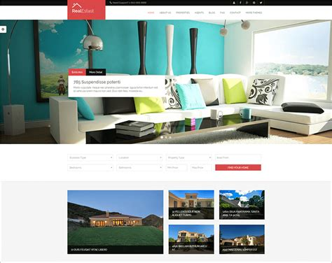 drupal themes real estate 36 best creative drupal themes free website templates