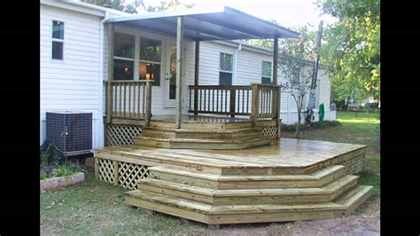 mobile home steps plans mobile home steps plans