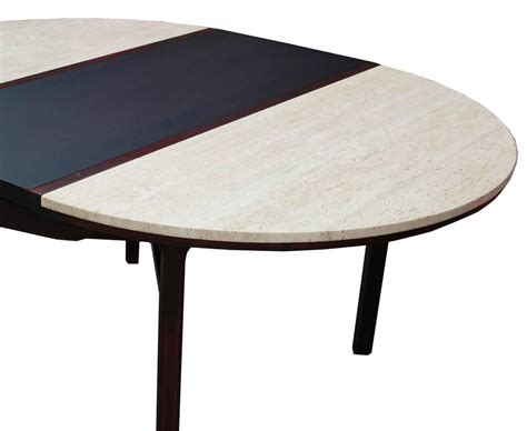 travertine dining room table striking color blocked travertine dining table at 1stdibs