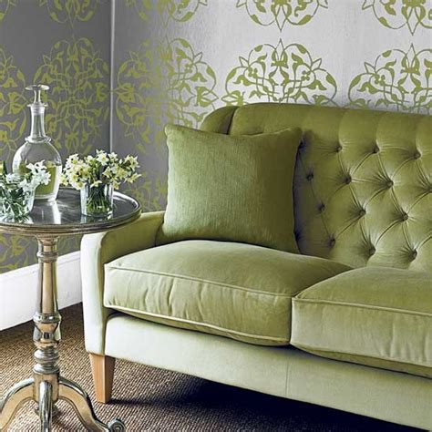 Green Sofas Living Rooms | green living room sofa housetohome co uk