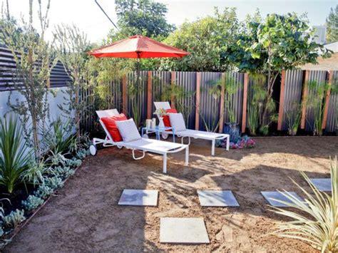 beach house backyard  contemporary aluminum fence hgtv
