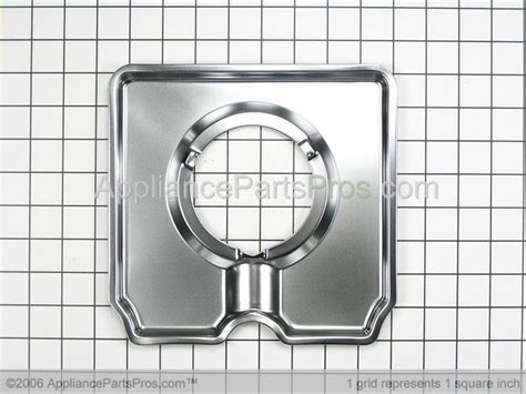 whirlpool  square gas drip pans