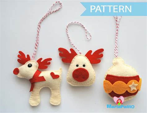 3 christmas ornament pattern sewing pattern a1091 the