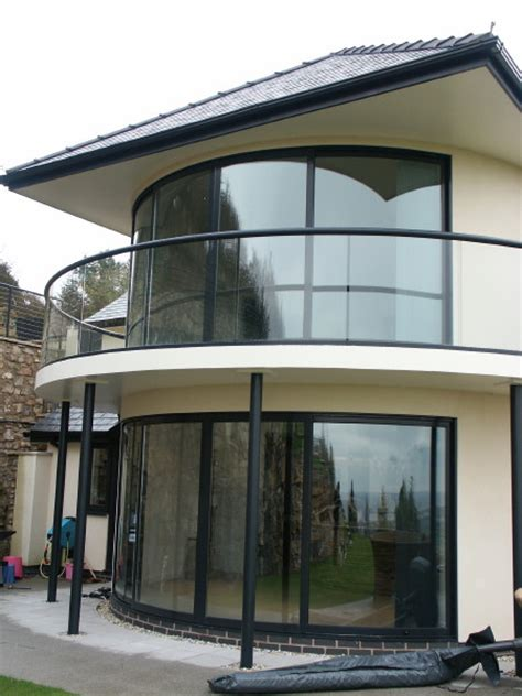 Curved Patio Doors Curved Glass Patio Doors Balcony And Balustrades
