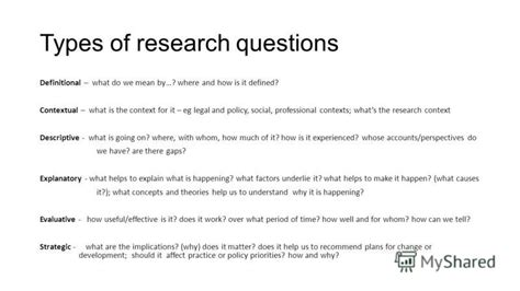 What Are The Types Of Mba by Types Of Questionnaires For Research