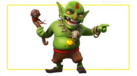 film coc goblin king goblin clash of clans www pixshark com images