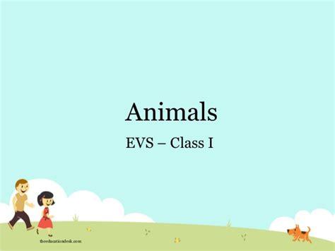 environmental science evs animals class i