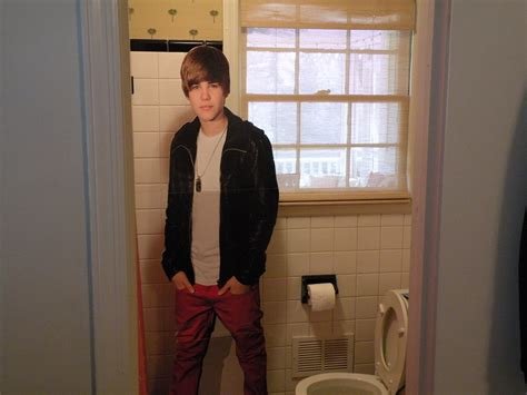 Justin Bieber In Shower by Justin Bieber The Real House