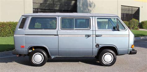 california original 1985 volkswagen type 2 t3 vanagon gl cold a c runs a