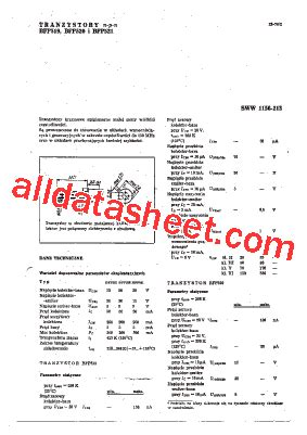 datasheet of transistor bc148 bfp521 datasheet pdf list of unclassifed manufacturers