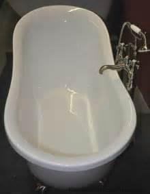 51 Inch Bathtub 51 Quot Acrylic Slipper Clawfoot Tub Classic Clawfoot Tub